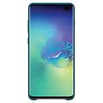 Samsung Coque cuir (vert) - Samsung Galaxy S10+
