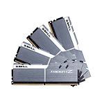 G.Skill Trident Z Silver / White DDR4 4 x 16 Go 3200 MHz CL16