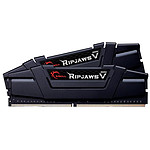 G.Skill Ripjaws V Black - 2 x 16 Go (32 Go) - DDR4 4266 MHz - CL17