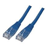 Câble RJ45 catégorie 6 U/UTP 5 m (Bleu)
