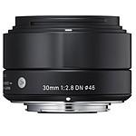 SIGMA 30mm F2.8 DN Noir monture Sony E