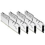 G.Skill Trident Z Royal Silver RGB - 4 x 8 Go (32 Go) - DDR4 4000 MHz - CL15