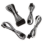 BitFenix Alchemy - Extension Cable Kit - noir et blanc