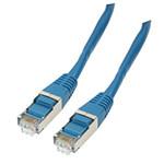 Câble RJ45 catégorie 6 F/UTP 10 m (Bleu)