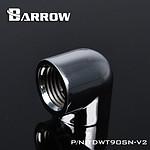 BARROW TDWT90SN-V2 - Coude 90° femelle vers femelle - Argent