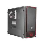 Cooler Master MasterBox E500L Fenêtre Rouge - MasterWatt 450 - MasterLiquid ML120L RGB