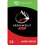 Seagate IronWolf - 3 To - 64 Mo - Pack de 4