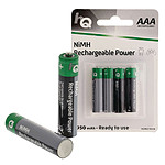 HQ Rechargeable Power AAA 950 mAh (par 4)