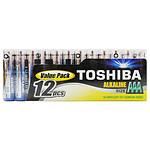 Toshiba Piles Alcalines AAA LR03 (par 12)