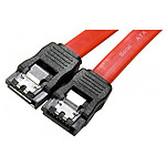 Câble SATA avec verrouillage - 50cm