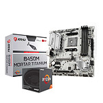 AMD Ryzen 7 2700 + MSI B450M MORTAR TITANIUM