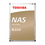 Toshiba N300 - 4 To - 128 Mo - Pack de 3