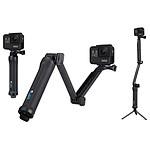 GoPro Fixation 3-Way (poignée - perche - trépied)