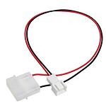 Adaptateur d'alimentation Molex pour ventilateur 3 broches