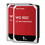 Western Digital WD Red - 1 To - 64 Mo - Pack de 2