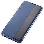 Huawei Etui Flip Smart View (bleu) - Huawei P30 Lite