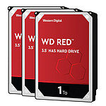 Western Digital WD Red - 1 To - 64 Mo - Pack de 3