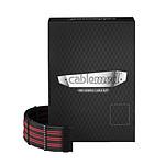 CableMod PRO ModMesh C-Series RMi & RMx - Noir / Rouge sang