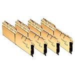 G.Skill Trident Z Royal Gold RGB - 4 x 16 Go (64 Go) - DDR4 3600 MHz - CL14