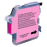 Cartouche compatible Brother LC-980 et LC-1100 - Magenta