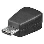 Adaptateur USB 2.0 mini type B femelle / micro type B mâle