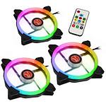 Raijintek Iris 14 Rainbow - Pack de 3
