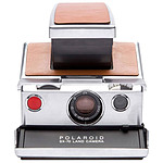 Polaroid SX-70 Argent/Marron