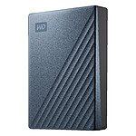 Western Digital (WD) My Passport Ultra - 4 To (Bleu / Noir)