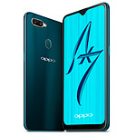 Oppo AX7 (bleu) - 64 Go - 4 Go