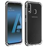 Akashi Coque angles renforcés (transparent) - Samsung Galaxy A40