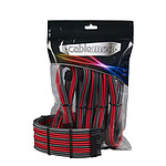 CableMod PRO ModMesh Cable Extension Kit - CARBONE/ROUGE