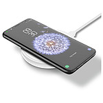Belkin Chargeur sans fil rapide à induction Qi 10 W (blanc)