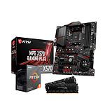 Ryzen 5 3600 + MSI X570 GAMING PLUS + HyperX Predator 2 x 8 Go 3200 MHz