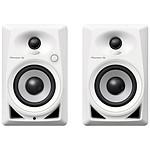 Pioneer DJ DM-40 (la paire) - Blanc