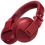Pioneer DJ HDJ-X5BT Rouge - Casque sans fil
