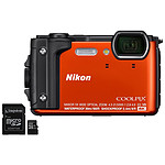 Nikon Coolpix W300 Orange + Kingston Canvas Select SDCS/16GB