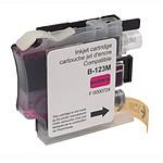 Cartouche compatible LC121/LC123/LC127 (magenta)