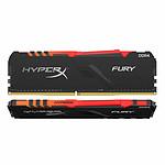 HyperX Fury RGB - 2 x 32 Go (64 Go) - DDR4 2400 MHz - CL15
