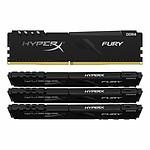 HyperX Fury - 4 x 16 Go (64 Go) - DDR4 3200 MHz - CL16