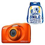 Nikon Coolpix W150 Orange + Sac à dos