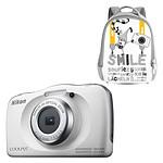 Nikon Coolpix W150 Blanc+ Sac à dos