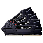 G.Skill Ripjaws V Black - 4 x 16 Go (64 Go) - DDR4 3600 MHz - CL14