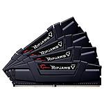 G.Skill Ripjaws V Black - 4 x 32 Go (128 Go) - DDR 4000 MHz - CL18