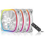Enermax SquA RGB 120 mm Blanc - Pack de 3