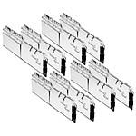 G.Skill Trident Z Royal Silver RGB 256 Go (8 x 32 Go) 3200 MHz DDR4 CL18