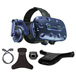 HTC Kit VIVE Pro Eye + Wireless Adaptator + Wireless Adaptator Clip