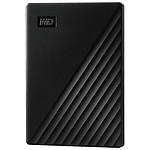 Western Digital (WD) My Passport - 4 To (Noir)