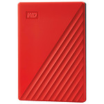 Western Digital (WD) My Passport - 4 To (Rouge)
