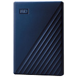 Western Digital (WD) My Passport For Mac - 5 To (Bleu nuit)