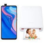 Huawei P Smart Z Noir - 64 Go + Imprimante de Poche Huawei CV80 offerte